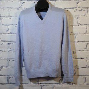 V-Neck Sweater 100% Scottish Cashmere 3-Ply